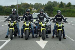 Les motos d'Accès-Conduite