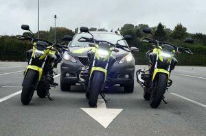 Les motos d'Accès-Conduite - Honda CBF 500