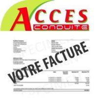 Régler votre facture accès-conduite